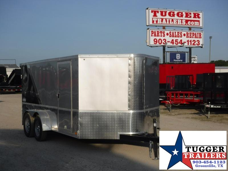 2021 Cargo Express 7x14 14ft Pro Toy Side Harley Bike Cargo Enclosed Motorcycle Trailer