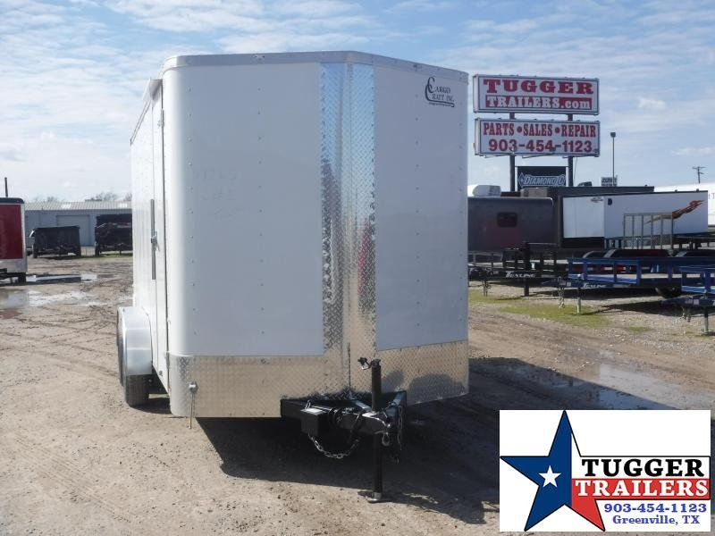 2020 Cargo Craft 7x14 14ft Ramp Utility Enclosed Cargo Trailer