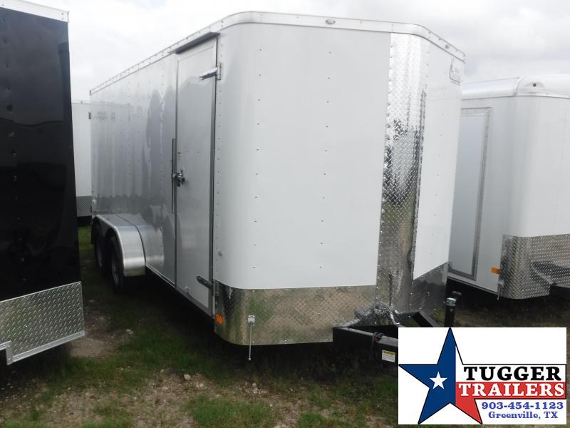 2019 Cargo Craft 7X16 16FT Double Door Enclosed Cargo Tandem Axle Trailer