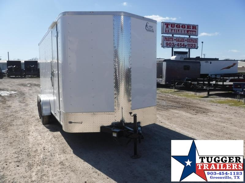 2020 Cargo Craft 7x16 16ft Ramp Utility Enclosed Cargo Trailer