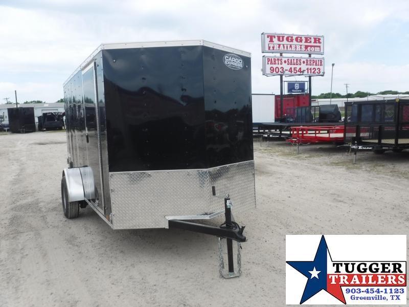 2021 Cargo Express 6x12 12ft V-Nose Utility Tailgate Landscape Lawn Enclosed Cargo Trailer