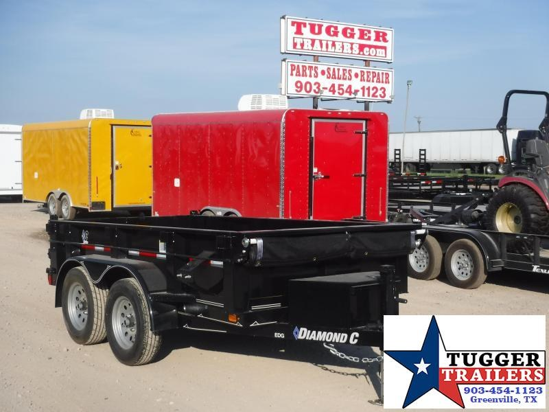 2019 Diamond C Trailers 60x10 10ft EDG235 2019 Dump Trailer