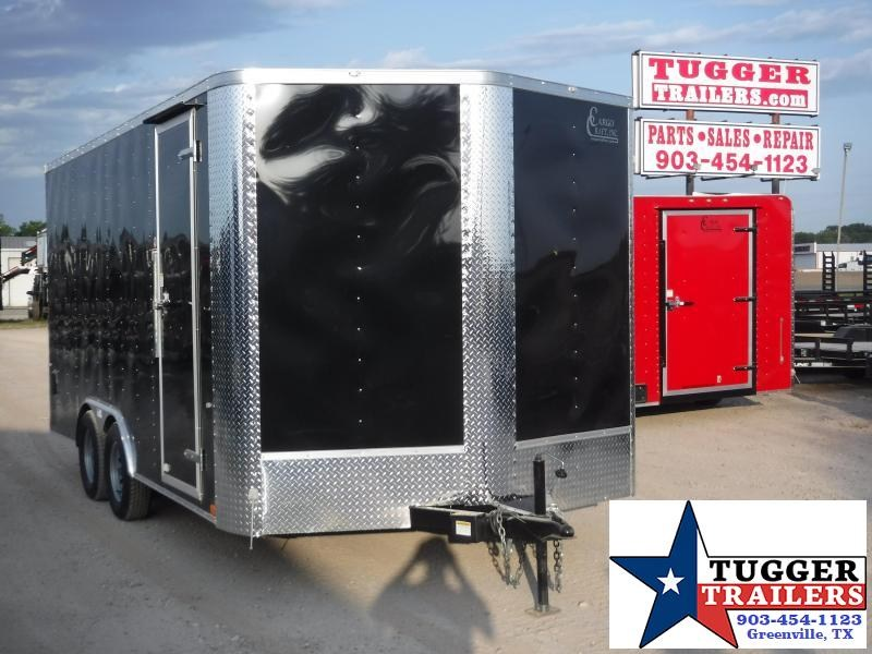 2019 Cargo Craft 8.5x16 16ft Ramp Enclosed Cargo Trailer
