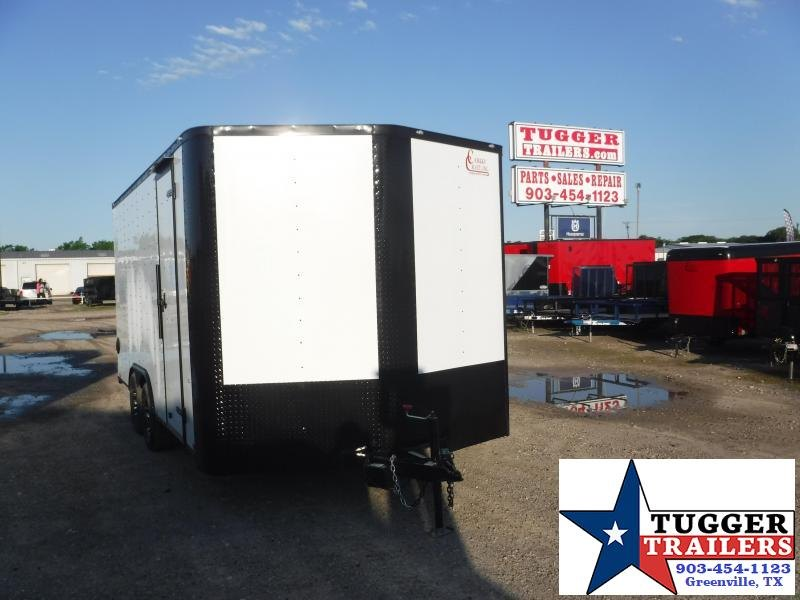 2020 Cargo Craft 8.5x16 16ft Blackout Utility Toy Sport Work Equip Enclosed Cargo Trailer