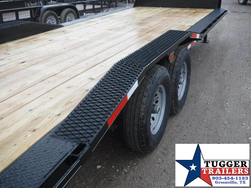 2019 TexLine 83x24 24ft Open Gooseneck Flatbed Equipment Utility Trailer