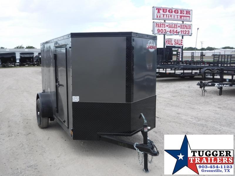 2020 Cargo Mate 5x10 10ft E-V Blackout Enclosed Cargo Trailer