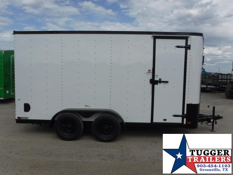 2020 Cargo Craft 7x14 14ft Blackout Ramp Enclosed Cargo Trailer