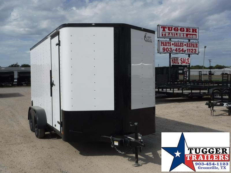 2020 Cargo Craft 7x14 14ft Blackout Ramp Enclosed Cargo Trailer