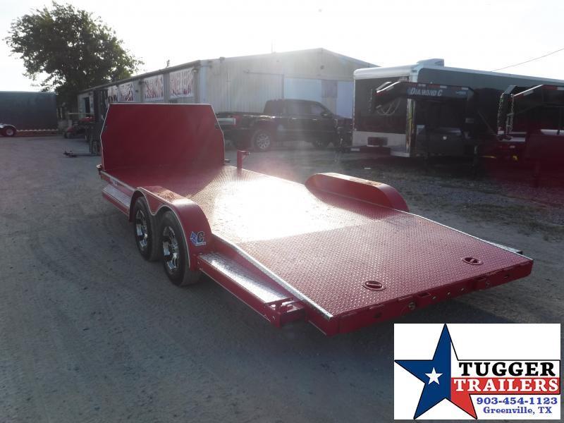 2020 Diamond C Trailers 83x20 20ft CHS Auto Mobile Steel Car / Racing Open Car Hauler Trailer