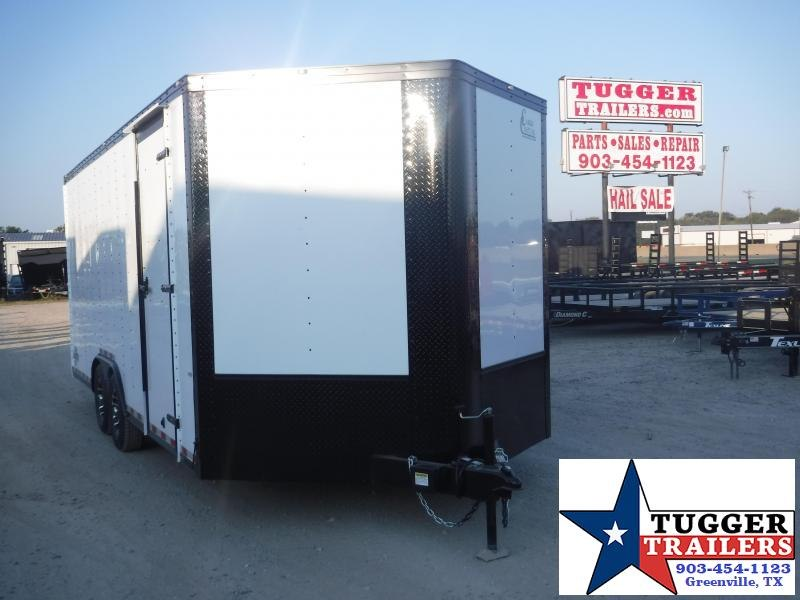 2020 Cargo Craft 8.5x20 20ft Blackout Auto Mobile Hauler Car / Racing Trailer