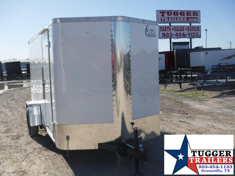 2020 Cargo Craft 6x12 12ft Elite Plus 2' V-Nose Ramp Enclosed Cargo Trailer