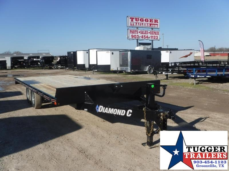 2020 Diamond C Trailers 102x20 20ft Deck Over Heavy Duty Utility Trailer