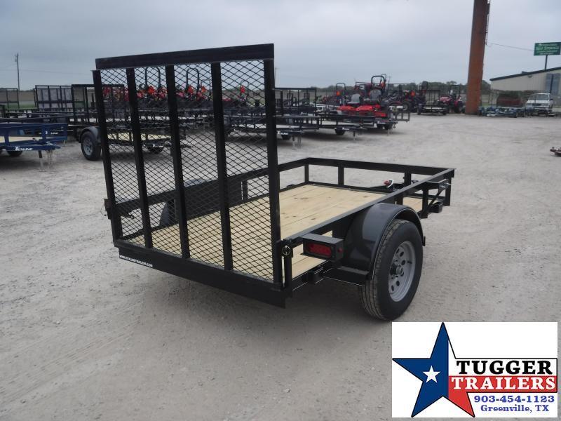 2019 TexLine 5x8 8ft Flatbed Ramp Utility Trailer
