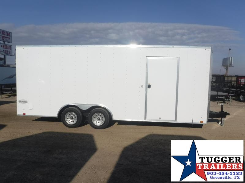 "2020 Cargo Express 8.5x20 20ft Plus 18"" V-Nose Auto Mobile Enclosed Car / Racing Trailer"