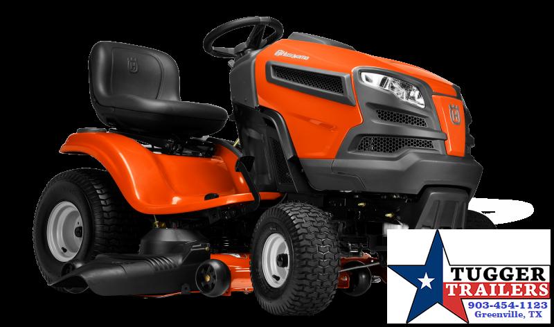 2020 Husqvarna 24-HP V-twin Hydrostatic 48-in Riding Lawn Mower Lawn Equipment