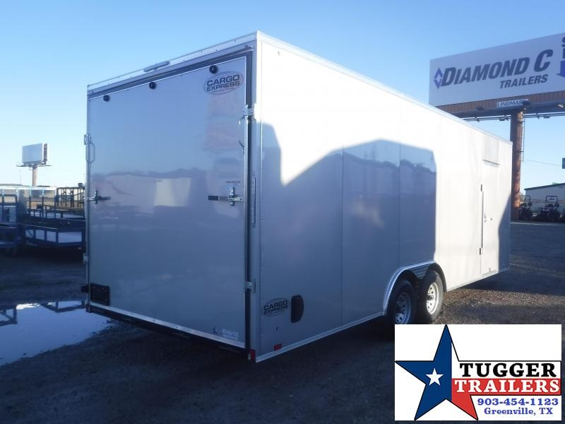 2020 Cargo Express 8.5x24 24ft Auto Mobile Classic Enclosed V-Nose Car / Racing Trailer