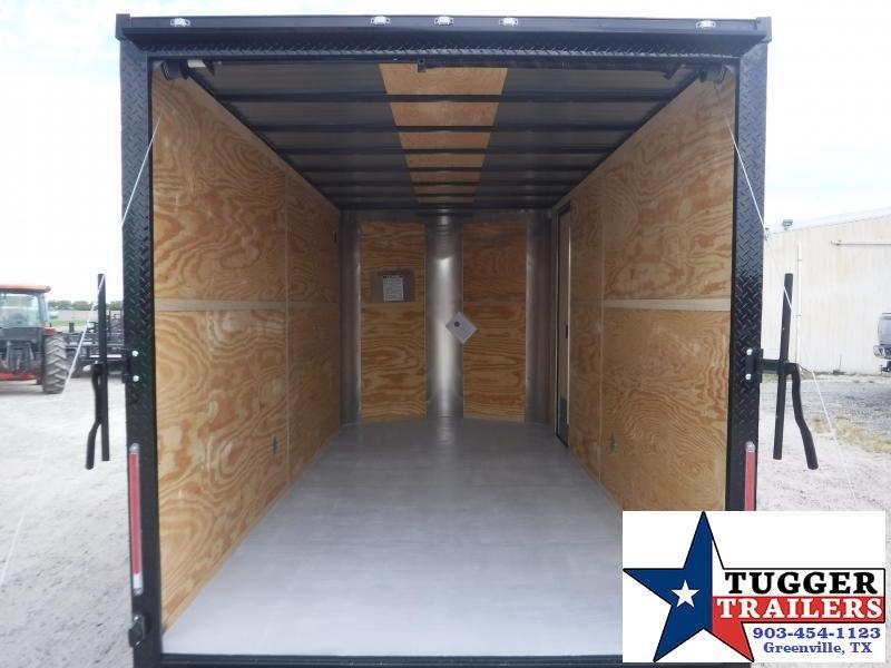 2020 Cargo Craft 7x16 16ft Blackout Ramp Enclosed Cargo Trailer