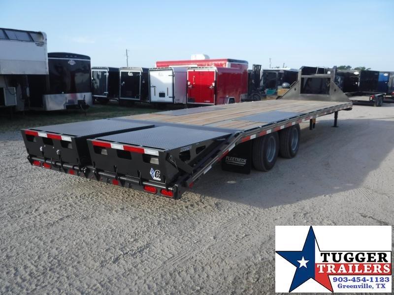 2019 Diamond C Trailers 102x32 32ft FMAX Steel Heavy Duty Utility Flatbed Open GooseneckTrailer