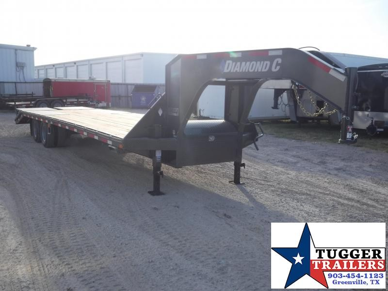2019 Diamond C Trailers 102x32 32ft FMAX Steel Heavy Duty Utility Flatbed Open GooseneckTrailer