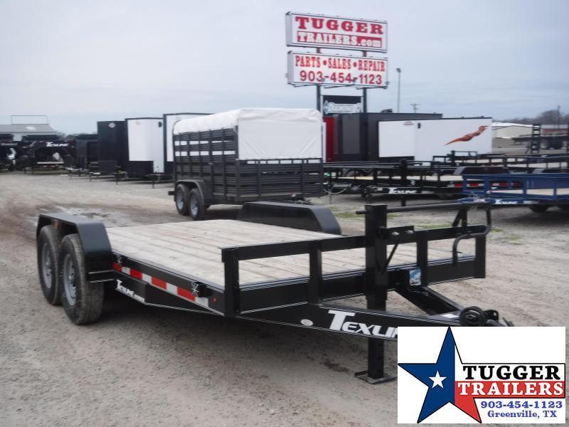 "2019 TexLine 83""X16' Bobcat Equipment Utility Trailer"