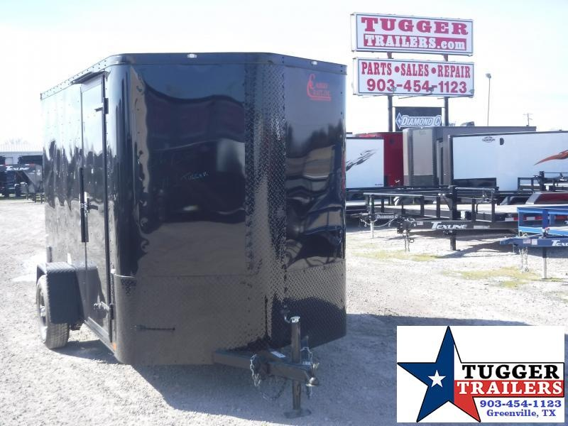 2020 Cargo Craft 6x10 10ft Elite Plus 2' V-Nose Utility Enclosed Cargo Trailer