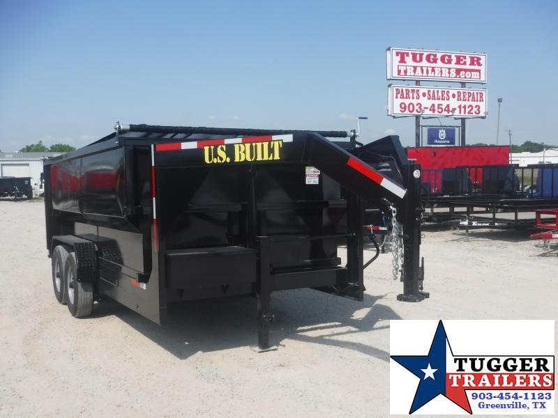 2020 Texas Pride Trailers 7x14 14ft Gooseneck Telescoping Steel Heavy Duty Dump Trailer