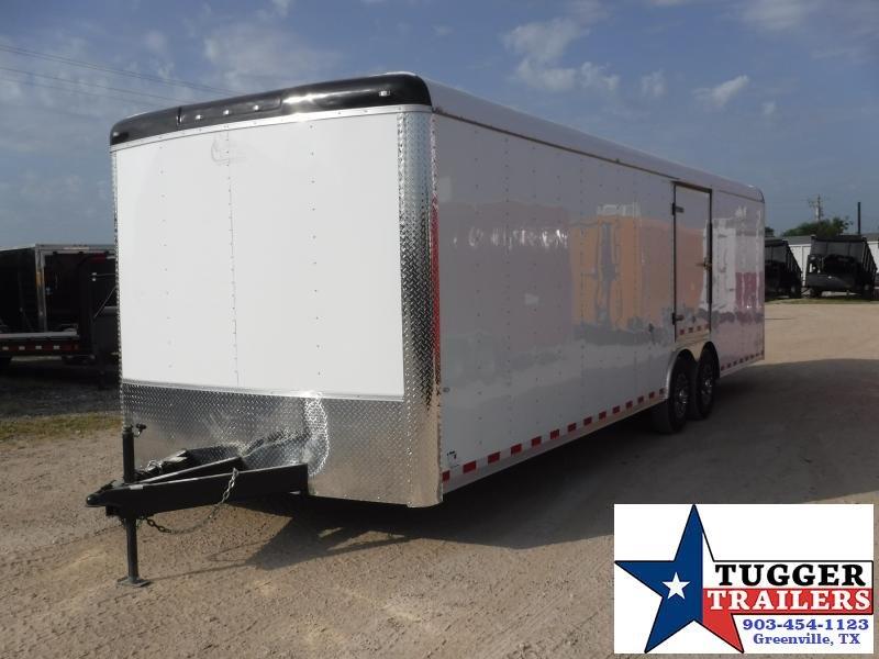 2019 Cargo Craft 8.5x28 28ft Auto Mobile Hauler Car / Racing Trailer