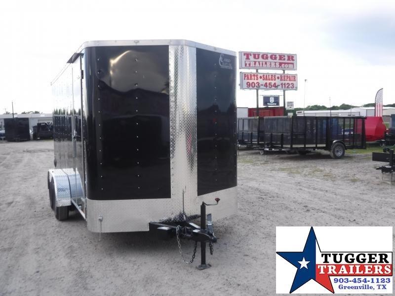 2020 Cargo Craft 7x14 14ft Utility Sport Toy Four Side ATV UTV Mow Enclosed Cargo Trailer