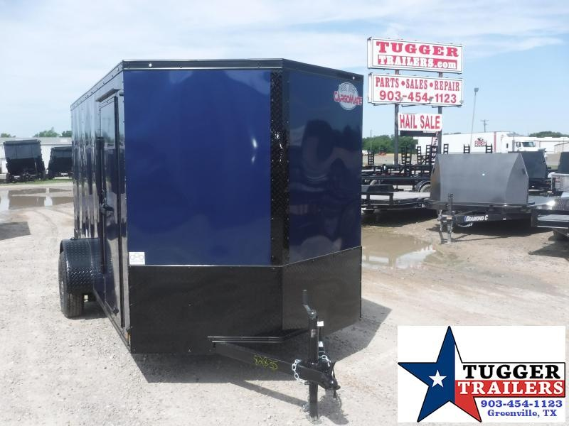 2020 Cargo Mate 6x12 12ft EV Blackout Ramp Enclosed Cargo Trailer