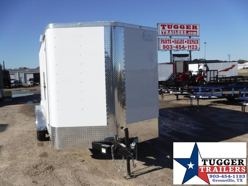 2020 Cargo Craft 7x14 Double Door Enclosed Cargo Trailer
