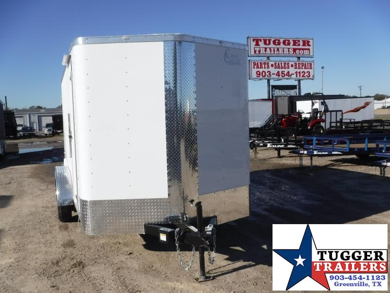 2020 Cargo Craft 7x14 Double Door Enclosed Cargo Trailer