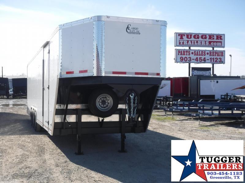 2020 Cargo Craft 8.5x40 40ft Ramp Car Auto Mobile Gooseneck Enclosed Cargo Trailer