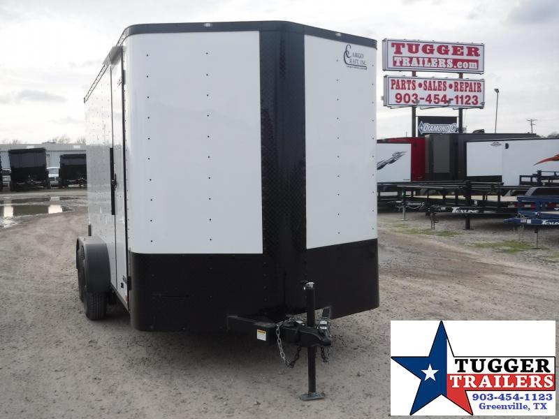2020 Cargo Craft 7x14 14ft Black Out Ramp Enclosed Cargo Trailer