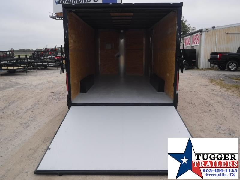 2020 Cargo Craft 8.5x16 16ft Blackout Ramp Enclosed Cargo Trailer