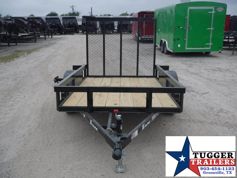 2019 TexLine 5x8 8ft Flatbed Ramp Utility Trailer