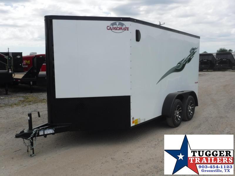 2020 Cargo Mate 7x12 12ft Blazer Blackout Harley Bike Trike UTV Motorcycle Trailer