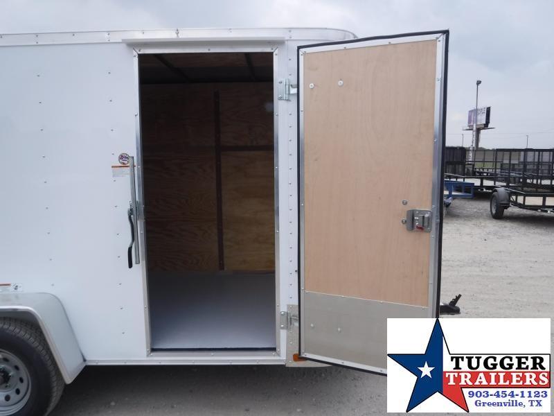 2020 Cargo Craft 6x10 10ft Elite V-Nose Ramp Enclosed Cargo Trailer