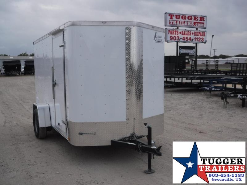 2020 Cargo Craft 6x8 8ft Elite V-Nose Ramp Enclosed Cargo Trailer