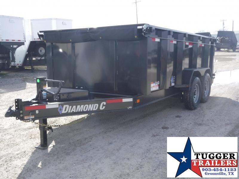 "2020 Diamond C Trailers 82"" X 14"" Dump Trailer"
