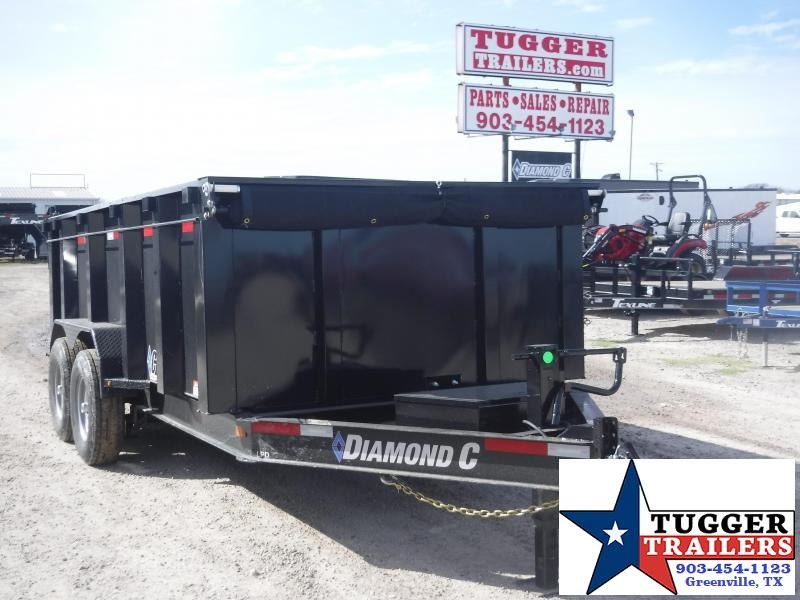 "2020 Diamond C Trailers 82"" X 14"" Dump Trailer"