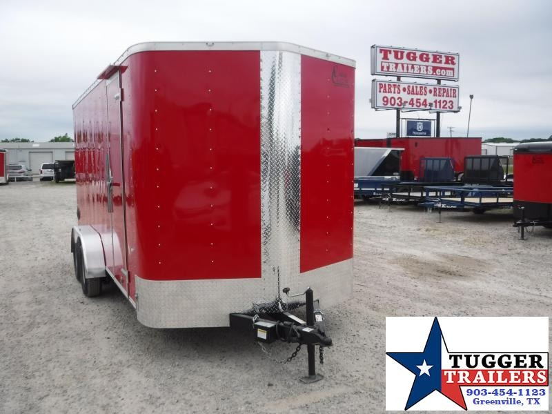 2020 Cargo Craft 7x16 16ft Red Utility Work Business Toy Sport Box Enclosed Cargo Trailer