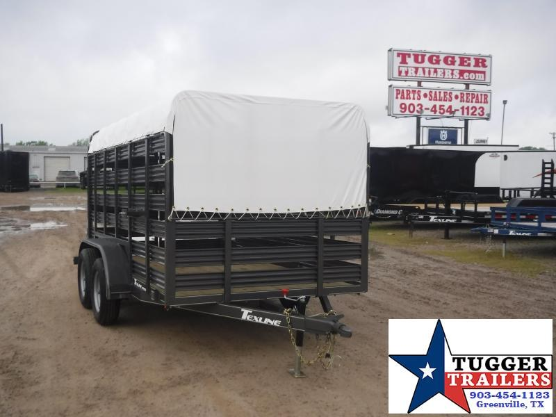 2020 TexLine 6x12 12ft Cattle Farm Animal Goat Pig Horse Live Livestock Trailer
