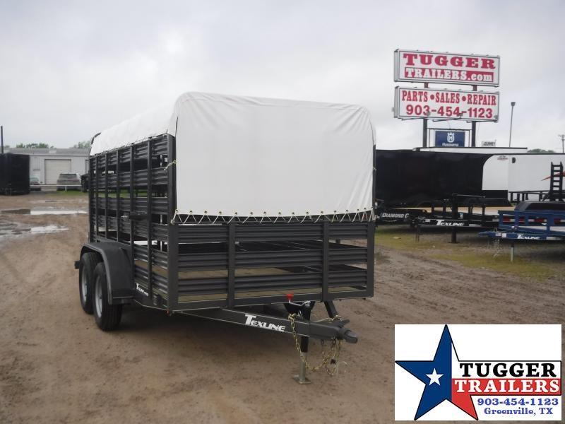 2020 TexLine 6x12 12ft Cattle Farm Animal Goat Pig Horse Live Livestock Trailer