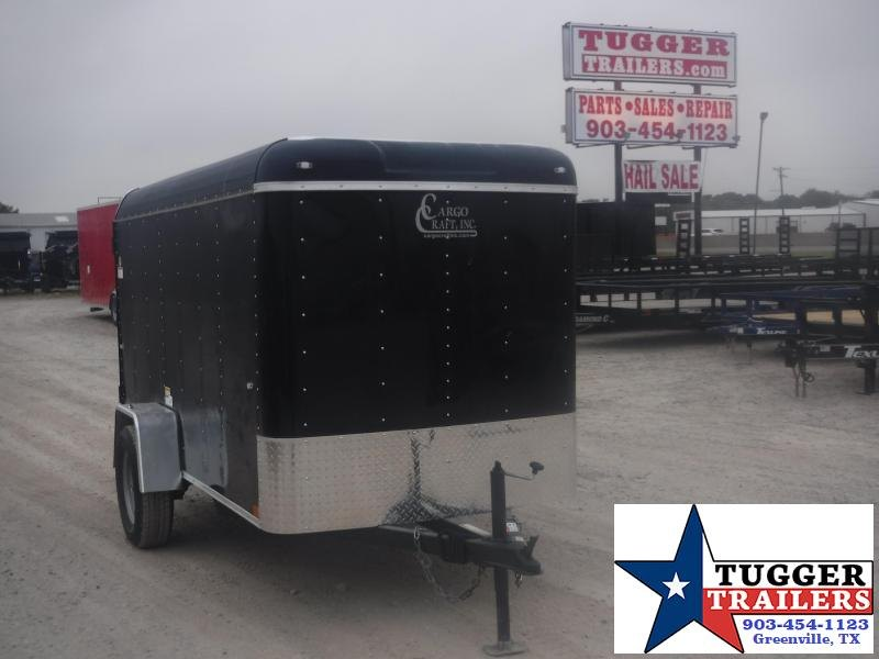 2020 Cargo Craft 5x10 10ft Swing Door Enclosed Cargo Trailer