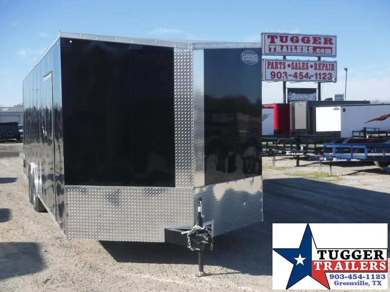 "2020 Cargo Express 8.5x24 24ft 18"" V-Nose Auto Mobile Enclosed Cargo Car / Racing Trailer"