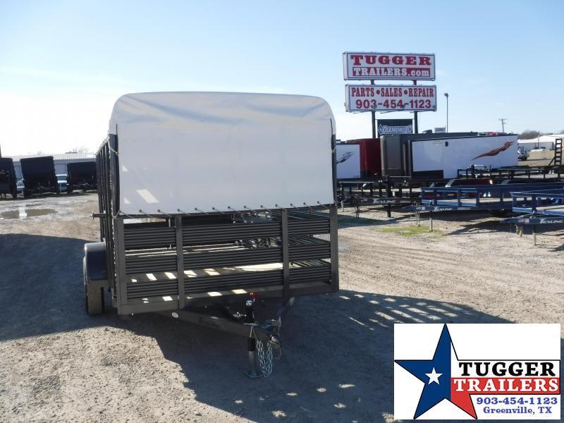 2020 TexLine 6x12 12ft Farm Stock Cattle Livestock Trailer