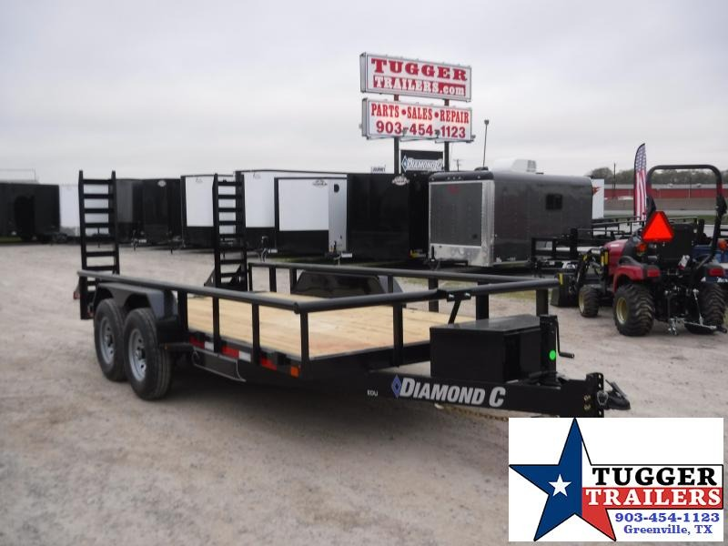 2020 Diamond C Trailers 82x16 16ft Steel Heavy Duty Farm Work Utility Equipment Trailer