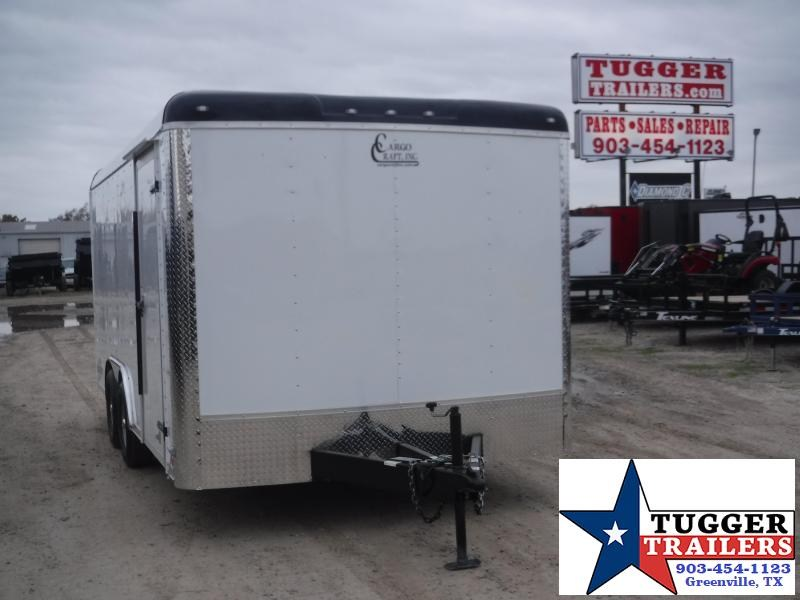 "2020 Cargo Craft 8.5"" X 16"" Enclosed Cargo Trailer"