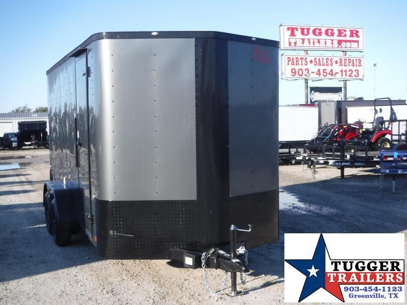 2020 Cargo Craft 7 x 14 V Nose Enclosed Cargo Trailer