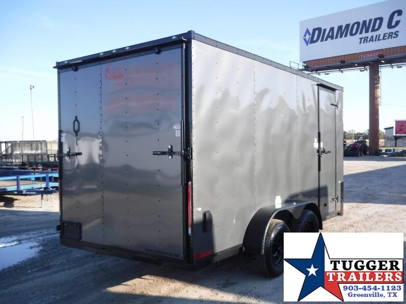 2020 Cargo Craft 7 x 14 V Nose Enclosed Cargo Trailer